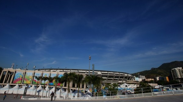 A look at the exterior of the Estadio do Maracana, home to the Final. Photo Credit: Getty Images