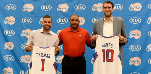 Farmar and Hawes press conference
