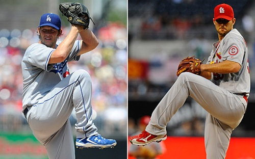 "These are the two ""horses"" in the two-horse race for the job of NL starting pitcher in the All-Star Game"