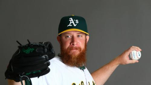 This is Oakland A's reliever Sean Doolittle. He has a 31.50 K/BB rate. Oh, and this beard. Photo Credit: USA Today Sports