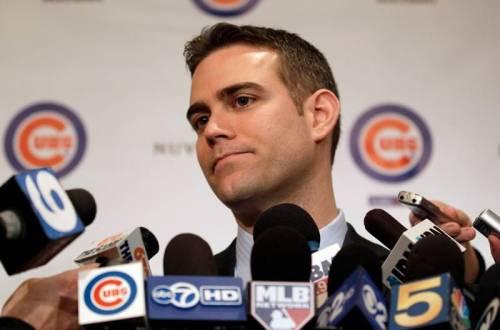 Theo Epstein made a few deals in order to upgrade his roster for the long term. Photo Credit: Associated Press