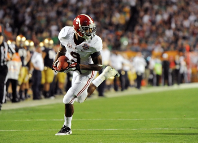 With his immense talent, Amari Cooper may be in a class all his own in college football.