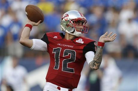 The Popeyes Bahamas Bowl will see yet another great quarterback on display in Western Kentucky's Brandon Doughty.