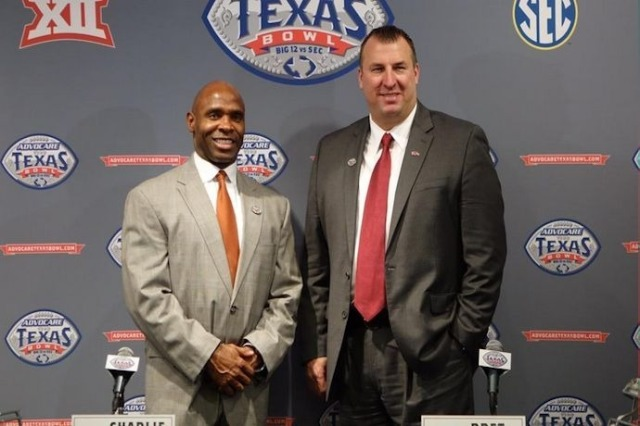 I'm serious here guys -- it's crazy to me that Strong is 10 years older than Bielema.