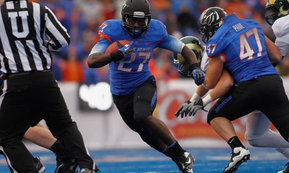 Boise State running back Jay Ajayi is among the best in the country and was selected to the AP All-America second team.