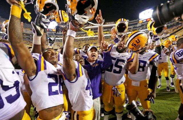 Though their season may not have been as great as some in recent memory, LSU proved they are still rock solid at home, taking down then No. 3 Ole Miss in Death Valley on October 25.
