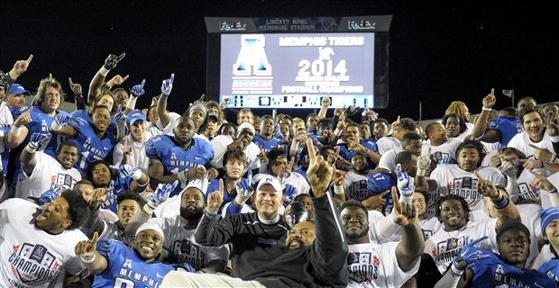 Memphis claimed a share of the AAC Championship this season, the Tigers' first conference championship since 1971. Photo credit to Justin Ford, USA TODAY Sports.