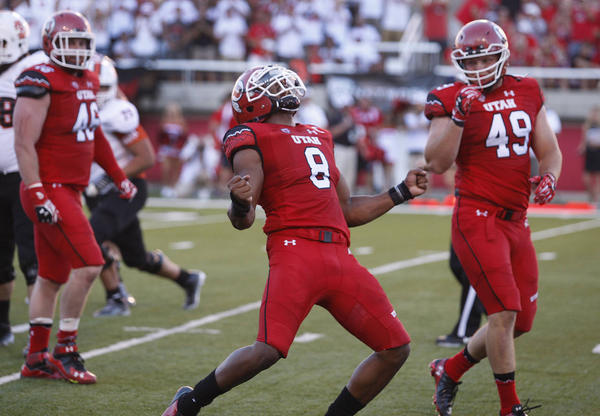 Keep an eye on Utah DE Nate Orchard, who Mel Kiper has ranked as the seventh best defensive end prospect for the NFL Draft. Photo courtesy of Tom Smart, University of Utah Athletics, and The Deseret News.