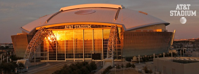 AT&T Stadium in Arlington, Texas, will be the site of the National Championship game. Photo courtesy of the AT&T Stadium official website.